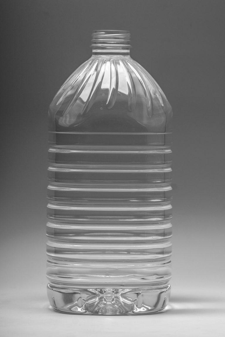 5 literes pet palack